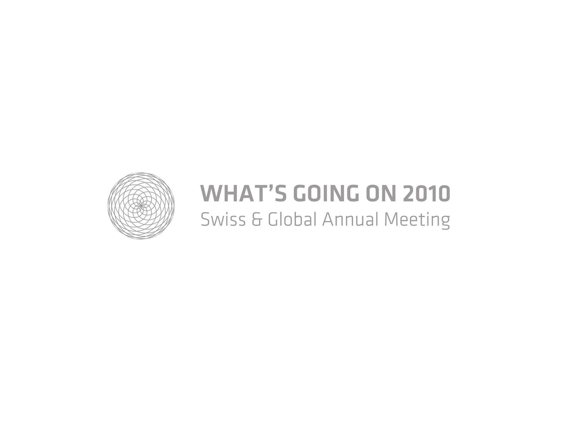 Il logo WGO What's going on 2010