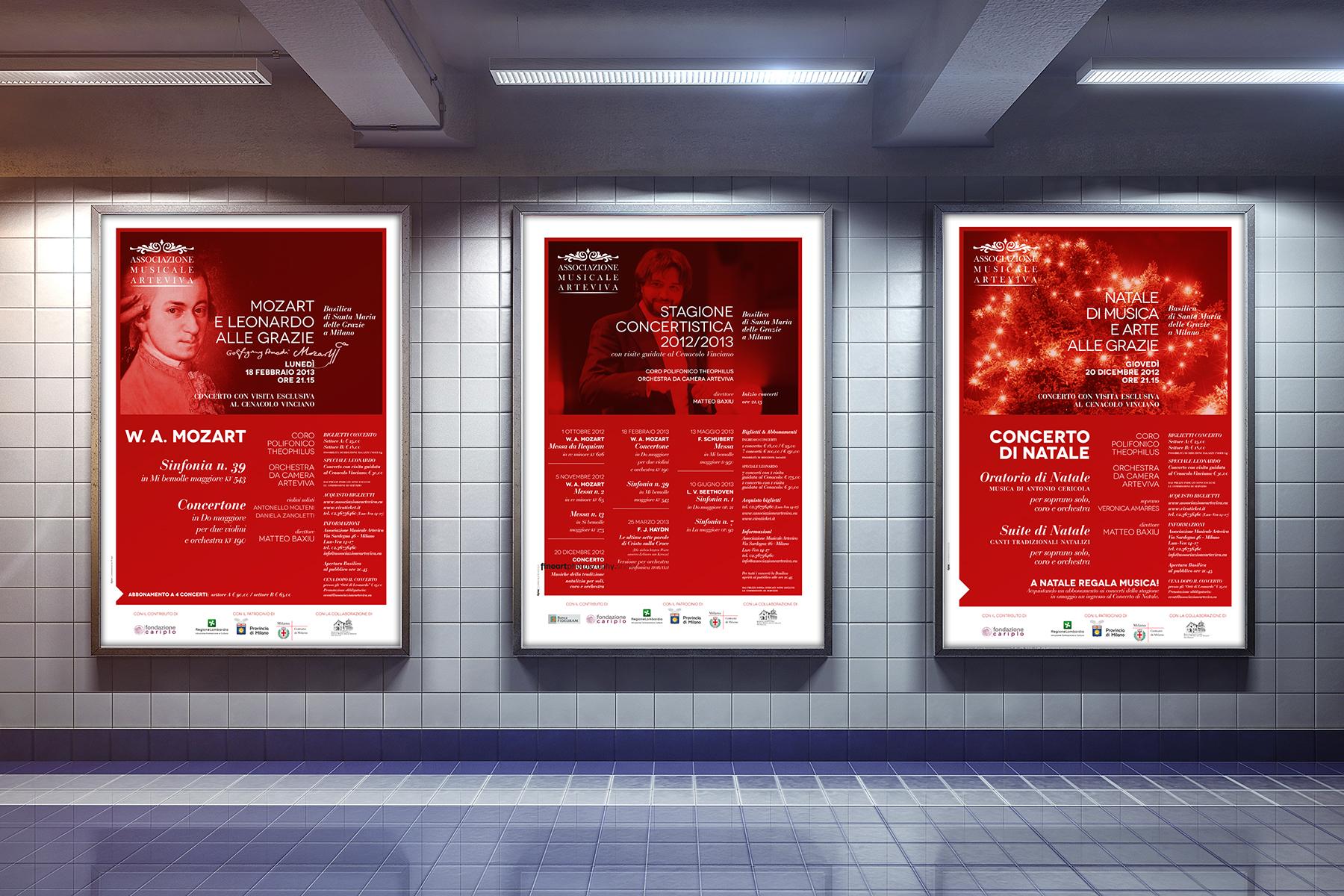 Poster della stagione concertistica 2012-2013