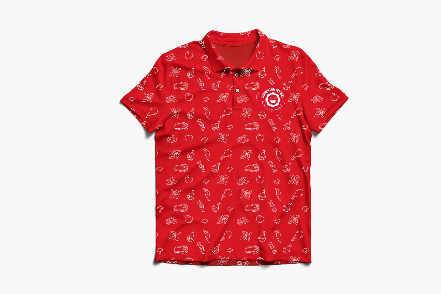 Dumpling Mywèi: t-shirt