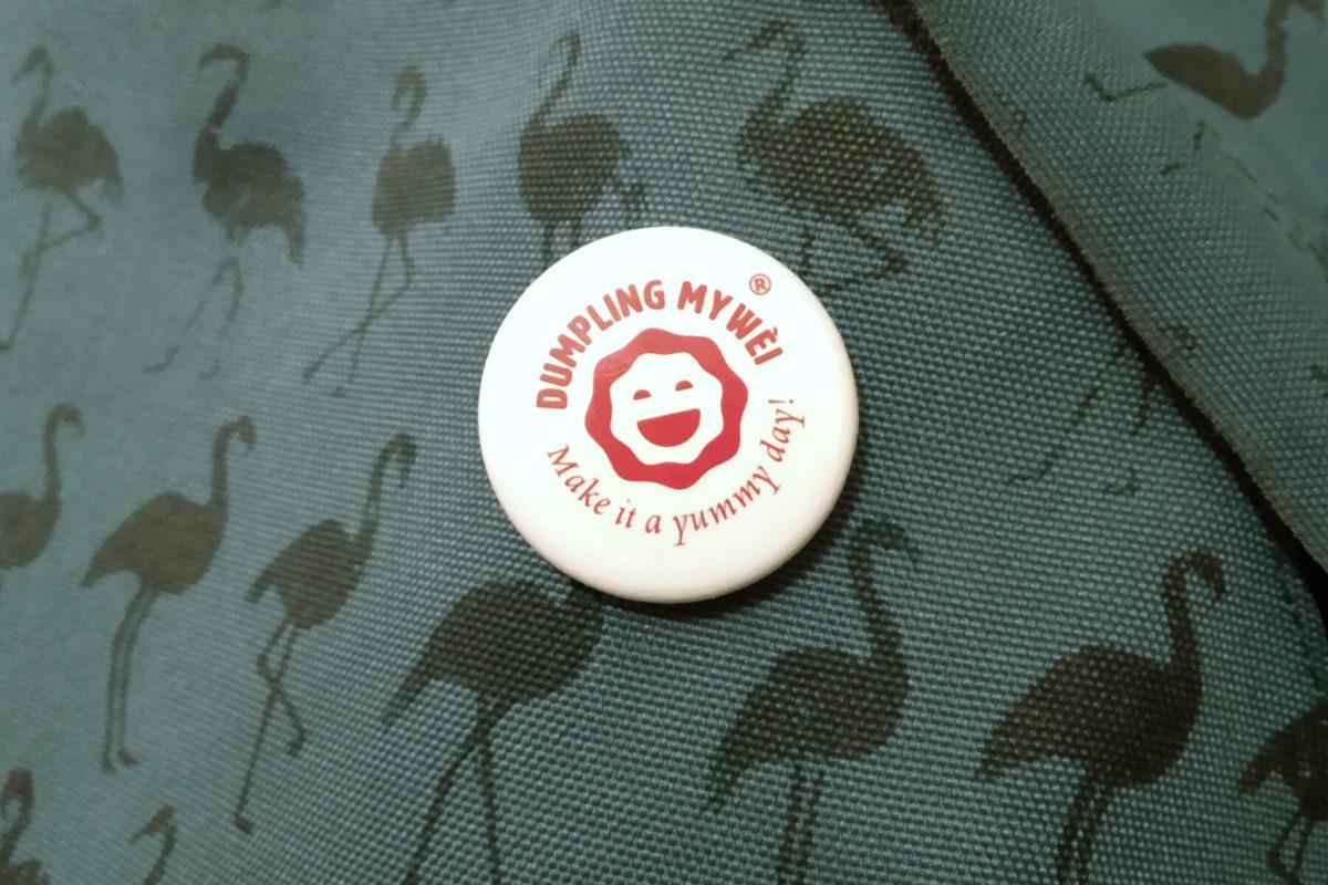 Spilletta con logo dumpling Mywèi