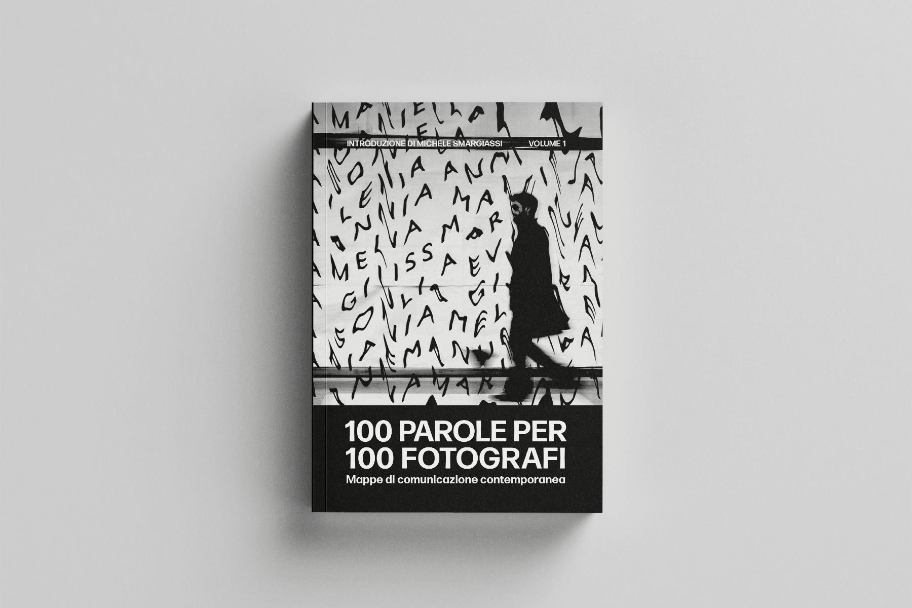 100 parole per 100 fotografi: copertina del volume 1
